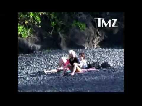 Lady GaGa in Hawaii with Speedy Boyfriend