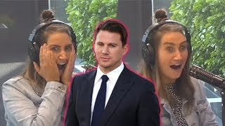 Channing Tatum is a big fan of radio host Bree Tomasel!