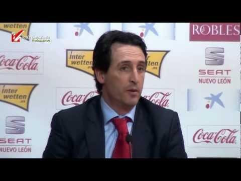 Presentación Entrenador Unai Emery al Sevilla FC JC