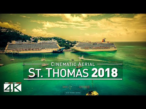 4K Drone Footage ST. THOMAS @ American Virgin Islands (USVI) [DJI Phantom 4]