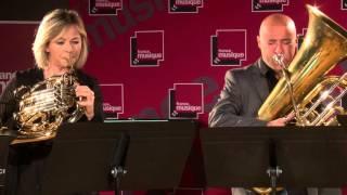 Debussy : La Fille aux cheveux de lin, par le Quintette Magnifica
