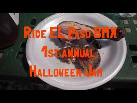 RIDE EL PASO BMX 2017 HALLOWEEN JAM