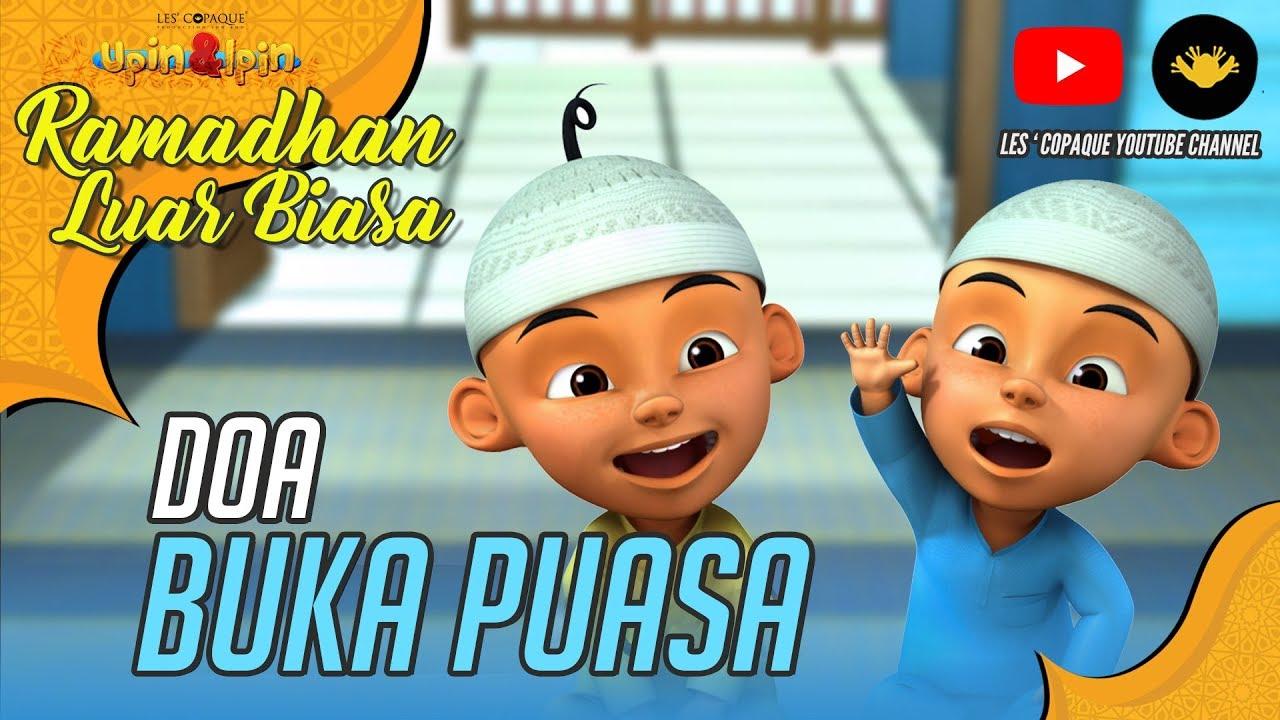Upin Ipin Doa Buka Puasa Hd Youtube