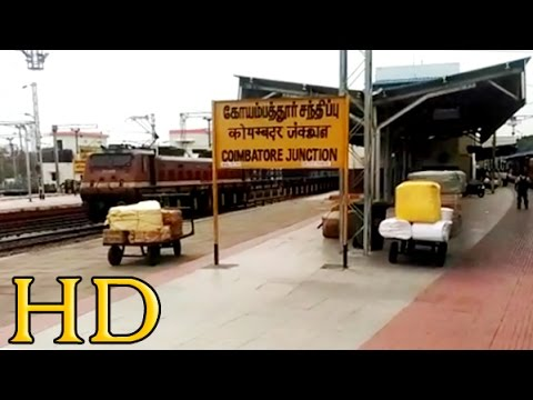 Grand Arrival At Manchester Of South India - COIMBATORE JUNCTION : 22648 KORBA EXPRESS
