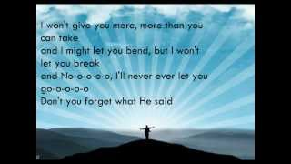 Group 1 Crew - He Said (Feat. Chris August) ~Lyrics