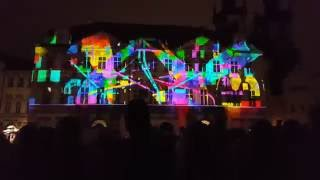 Signal Festival 2016 - videomapping Staroměstské náměstí (Voice of Figures — Radugadesign)