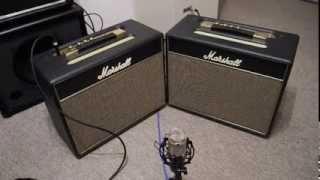 Marshall Class 5 Stock VS Class 5 Plexi Mod, comparison HQ Audio