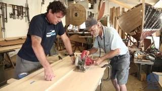 Building the TotalBoat - Fitting the side planking (Episode 3)