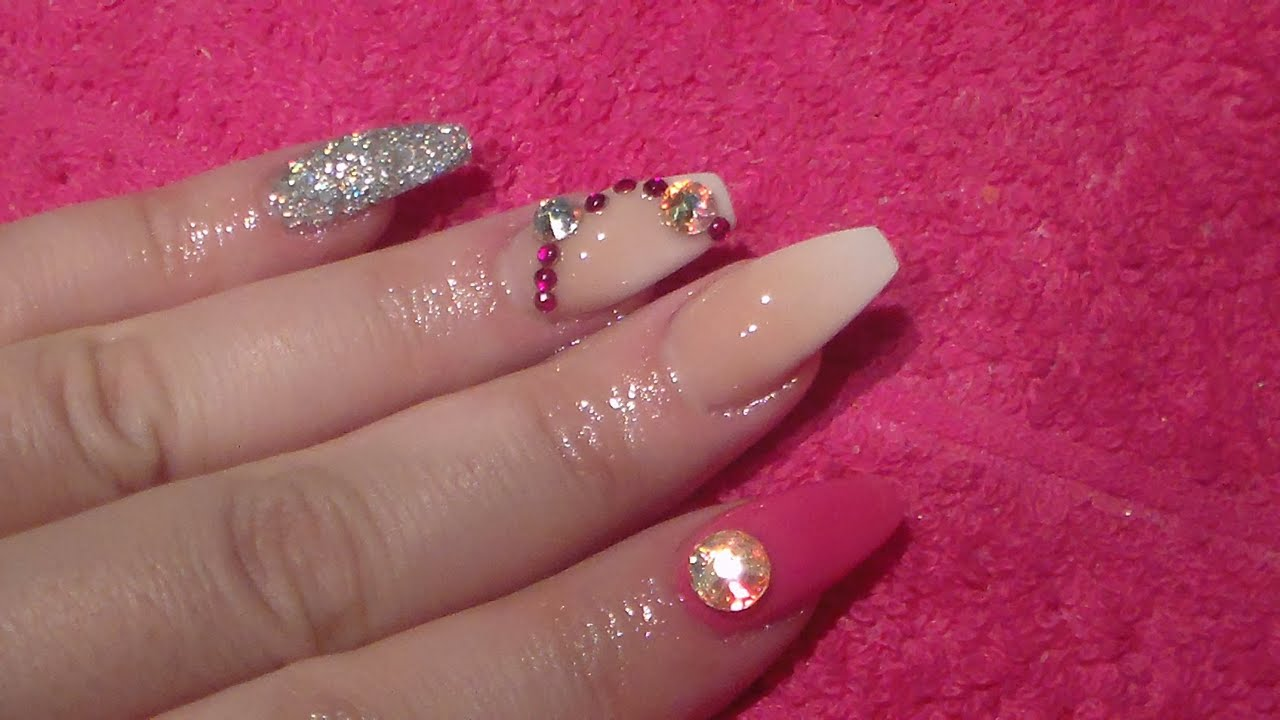 Baby Boomer Acrylic Nails With A Twist, How to. Acrylic nails. Nails ...