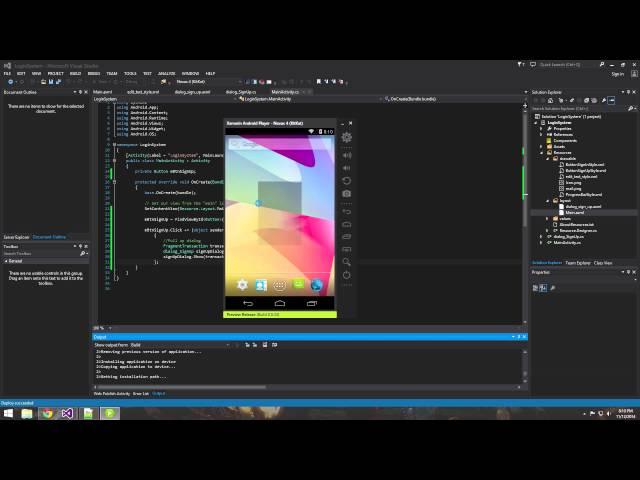 Xamarin Android Tutorial   8   Creating a Dialog Fragment
