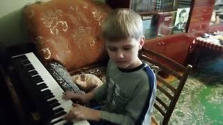 """Музыка из фильма """"Терминатор"""". Кавер на пианино."""