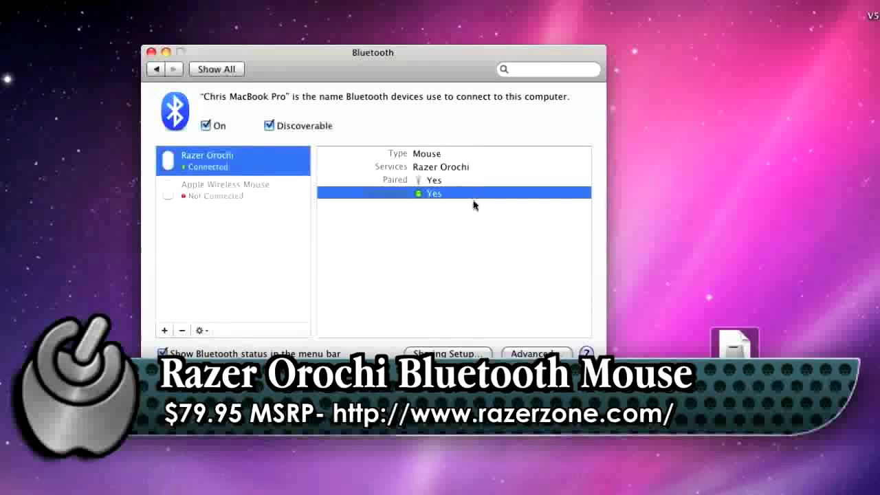 WholeApple Razer Orochi Bluetooth Mac Mouse Review