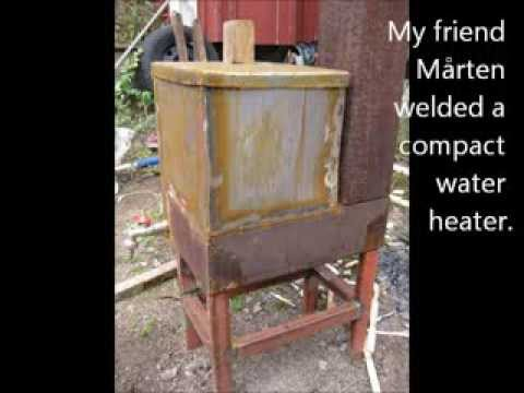 Rocket Stove Ideas 35  - Compact Water Heater