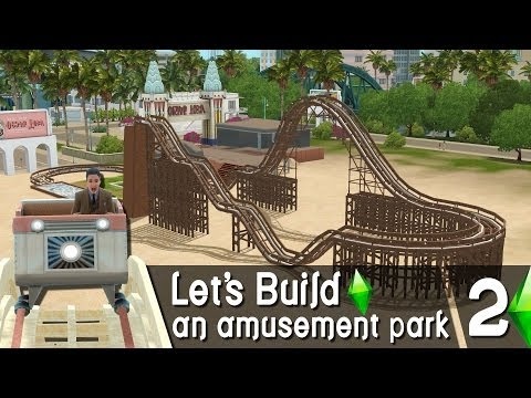 The Sims 3 - Let's Build an amusement park | Part 2