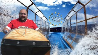 Canyon River 'Log Flume' On-Ride POV | Clarence Pier