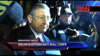 Sheldon Silver Found Guilty on All 7 Counts
