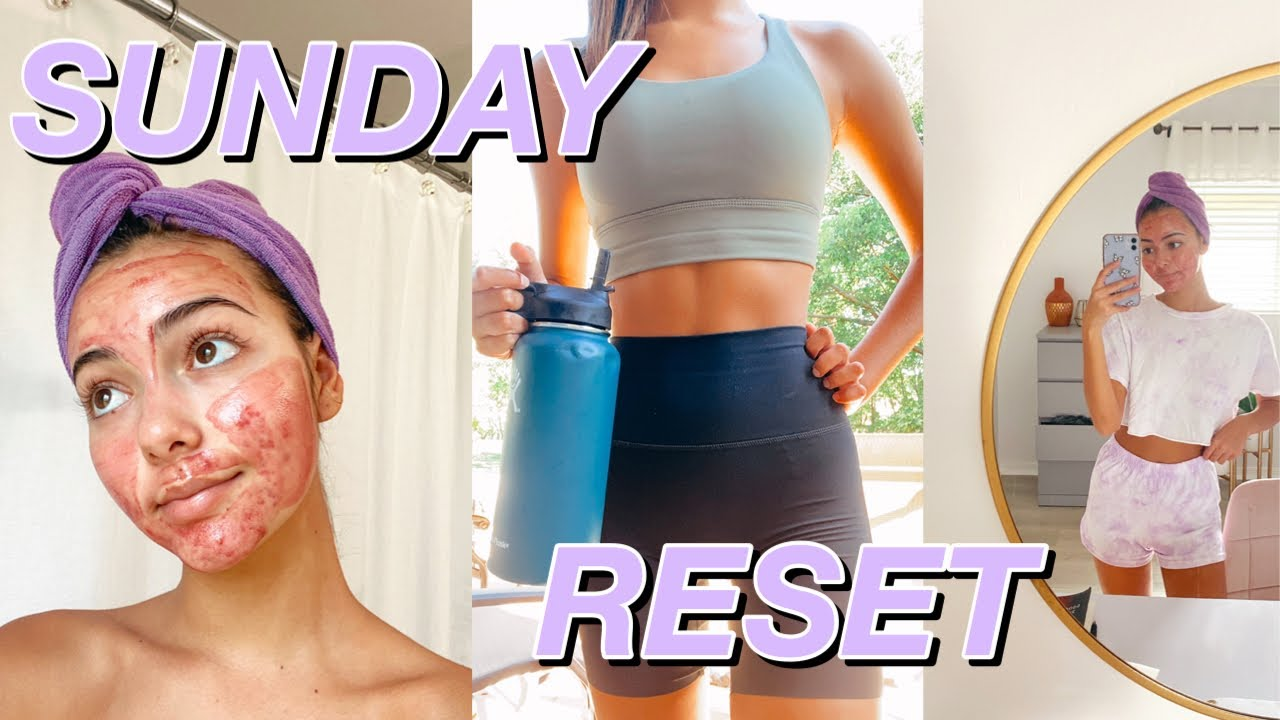 SUNDAY RESET ROUTINE: getting my life together (ft. dossier)
