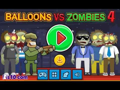 walkthrought for Balloons vs Zombies 4
