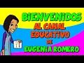Bienvenidos al canal educativo de Youtube de Eugenia Romero mp3 indir