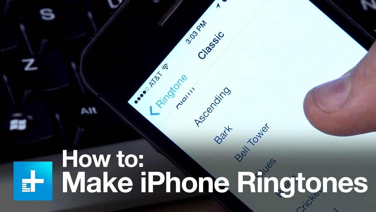 create iphone ringtone how to make a ringtone for the iphone 9646