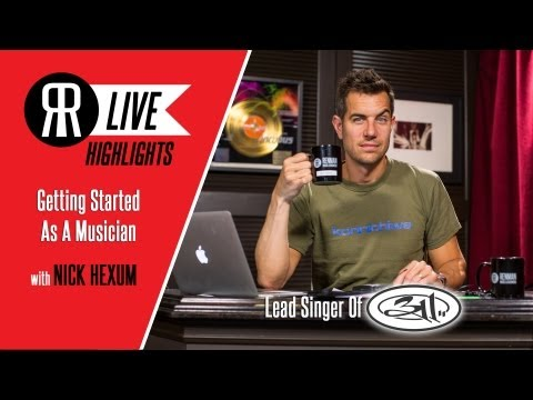 Getting Started As A Musician With 311's Lead Singer Nick Hexum