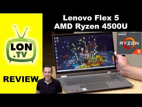 Lenovo Flex 5 with AMD Ryzen 4500U Review - 2 in 1 Laptop / Tablet