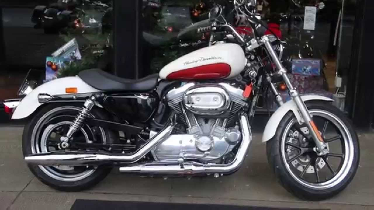 White Harley Davidson: 2011 HARLEY-DAVIDSON SUPERLOW BIRCH WHITE SEDONA @ WCHD