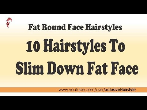 Fat round face hairstyles 10 Hairstyles To Slim Down Fat Face