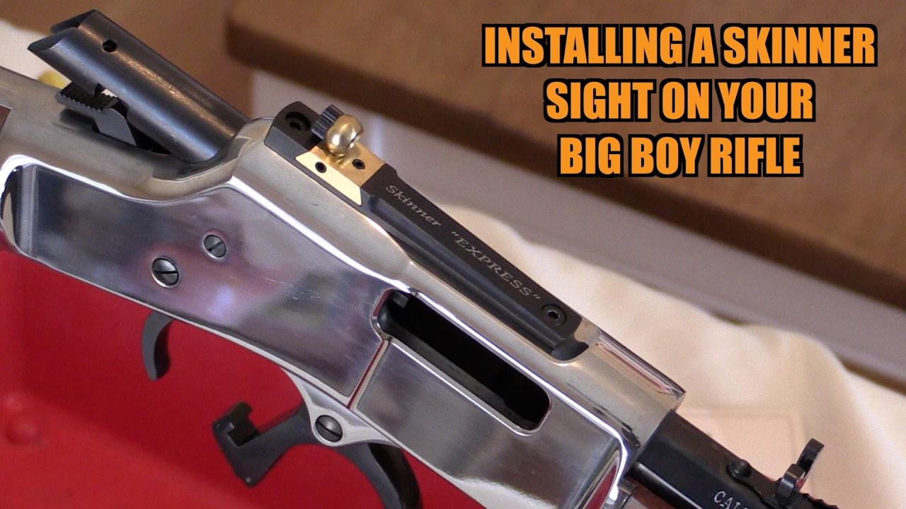 How to Install a Skinner Peep Sight
