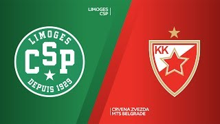Limoges CSP - Crvena Zvezda mts Belgrade Highlights | 7DAYS EuroCup, T16 Round 5