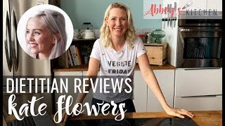 Dietitian Reviews Kate Flowers What I Eat in a Day