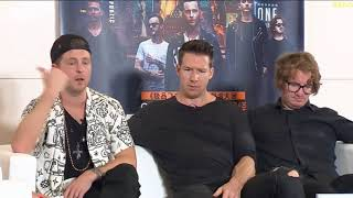 OneRepublic live @ QQ Music (part 1) talking about China, touring & food