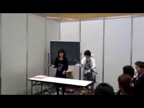 レッツ受付動画クリーンライフヴィジョン2013大阪展示会2