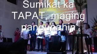 Himno ng TAPAT with Lyrics by Bernadeta T  Galea of SRES MABUHAY ANG TAGUIG at PATEROS