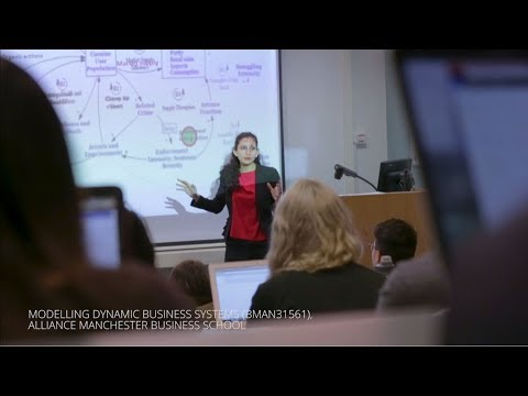 Simulation, system thinking, and climate change policies at Alliance Manchester Business School