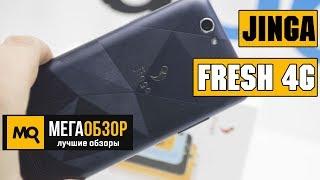 Jinga Fresh 4G обзор смартфона