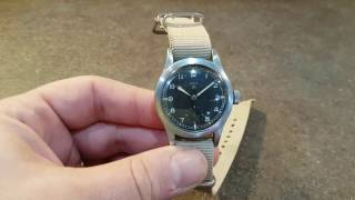 "1945 Record ""Dirty Dozen"" military watch with MOD dial"