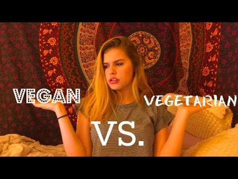 Vegan vs. Vegetarian! Whats The Difference?