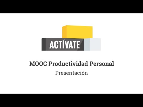 MOOC Actívate - Introducción