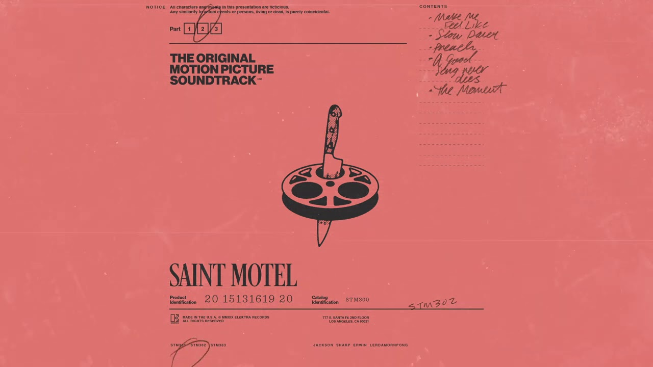 SAINT MOTEL - Slow Dance (Official Audio)