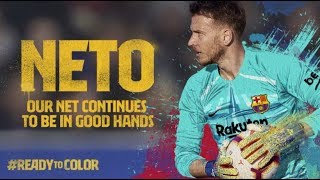 Neto is Barça's new signing for 2019/20 season
