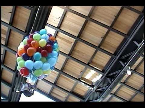 up house amp balloons in flight pixar atrium real life