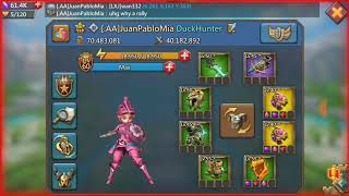 Lords mobile f2p trap Zeroed a rally- Why you should send your leader!