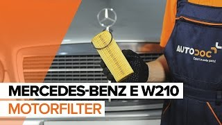 Montage MERCEDES-BENZ E-CLASS (W210) Kühler Thermostat: kostenloses Video
