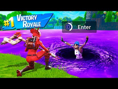 How To Open LOOT LAKE in Fortnite Battle Royale!