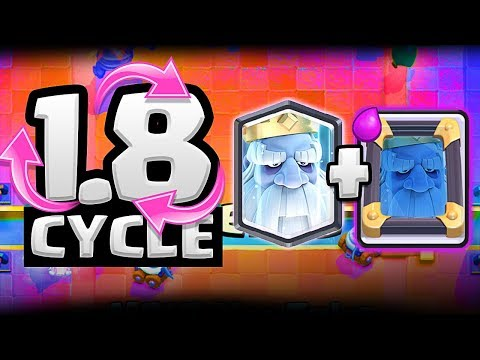 Clash with Ash... I ACCEPT YOUR CHALLENGE - 1.8 CYCLE - CLASH ROYALE