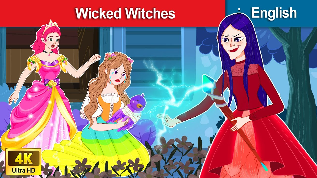 Best Stories About Wicked Witches ✨ Bedtime stories 🌛 Fairy Tales For Teenagers | WOA Fairy Tales