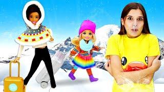 Куклы Барби едут в горы! Одежда для кукол. Игры для девочек - Ох, уж эти куклы!