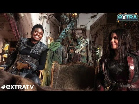 Life in the Bunker! 'The 100's' Marie Avgeropoulos & Adina Porter Tease Season 5