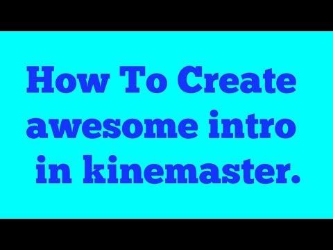 How To Make Vedios Intro| 3d Intro कैसे बनाते हैं? Kinemaster कि मदद से #techno Guru.